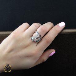 انگشتر توپاز تورمالین زنانه