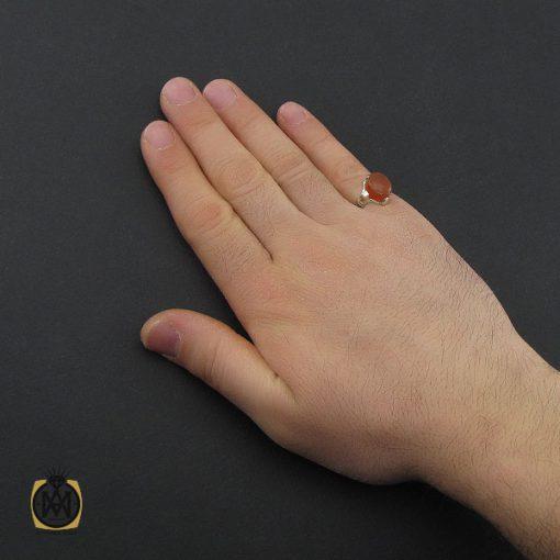 انگشتر عقیق یمن با حکاکی شرف الشمس مردانه – کد 10780 - 5 99 510x510