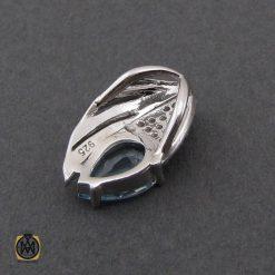 مدال توپاز زنانه نقره