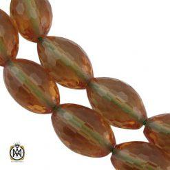 تسبیح زولتنایت 33 دانه تراش درشت خوش رنگ  - کد 4359 - تسبیح زولتنایت نقره 33 دانه 1 247x247