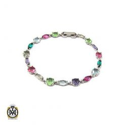 دستبند نقره زنانه عیار 925