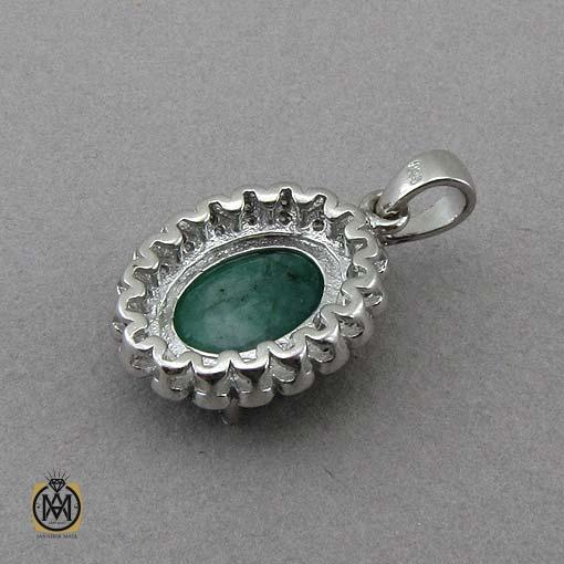 مدال زمرد طرح افسون زنانه – کد ۳۳۱۷