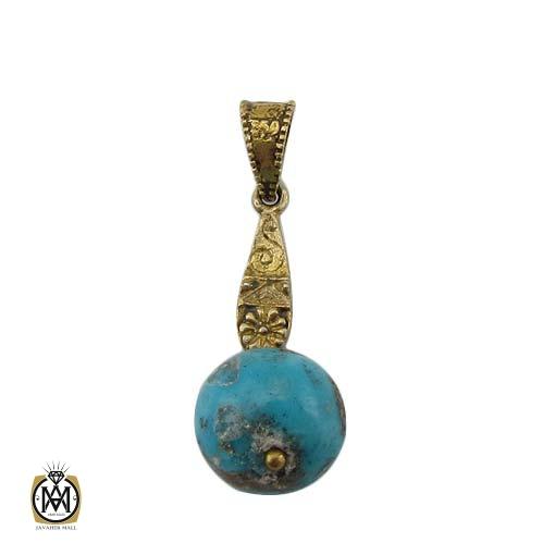 مدال فیروزه نیشابوری طرح مانیا زنانه – کد ۳۳۰۷