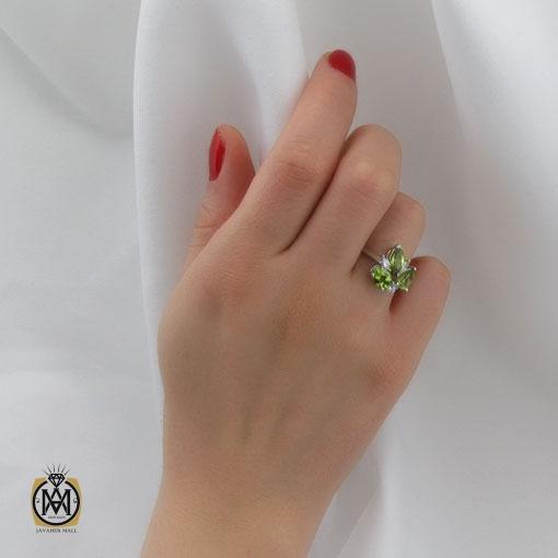 انگشتر زنانه نقره