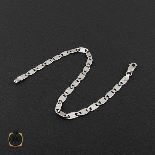 دستبند نقره مردانه – کد ۱۰۸۶۱