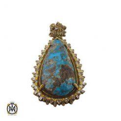 مدال الماس و فیروزه نیشابوری زنانه