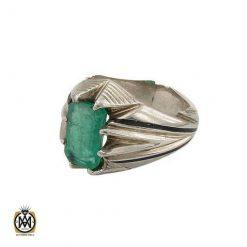 انگشتر زمرد زامبیا اصل و ارزشمند – کد ۸۶۲۲