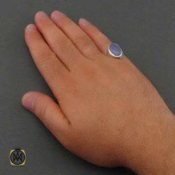 انگشتر عقیق کبود مردانه
