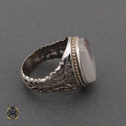 انگشتر عقیق شجر مردانه
