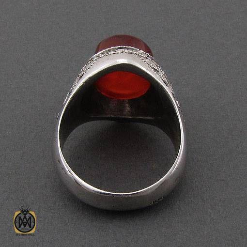 انگشتر عقیق قرمز اصل