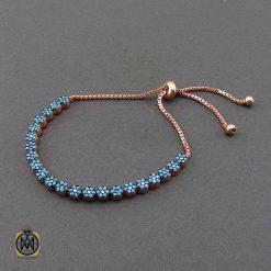 دستبند نقره زنانه ررزگلد