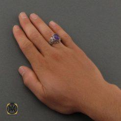 انگشتر آمتیست مردانه اصل