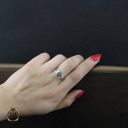 انگشتر دُر نجف طرح حلما زنانه – کد ۲۳۷۴