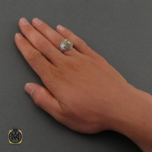 انگشتر عقیق باباقوری مردانه