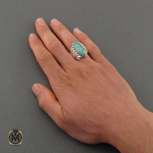 انگشتر فیروزه مردانه نیشابور