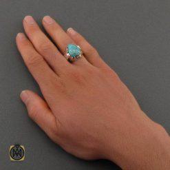 انگشتر فیروزه مردانه
