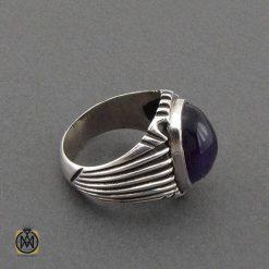 انگشتر جواهرات نقره مردانه