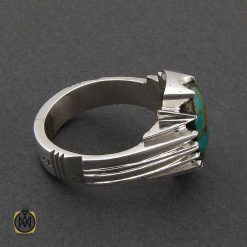 انگشتر نقره مردانه جواهرمال