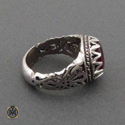 انگشتر یاقوت سرخ آفریقایی اصل