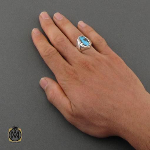 انگشتر-فیروزه-مردانه-اصل