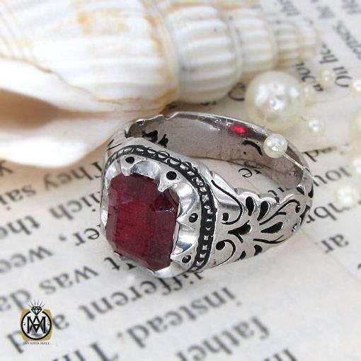 انگشتر یاقوت سرخ با کیفیت