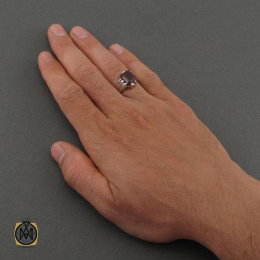 انگشتر یاقوت سرخ مردانه مرغوب