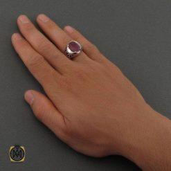 انگشتر یاقوت سرخ خوش رنگ