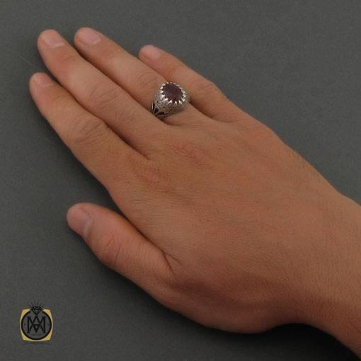 انگشتر یاقوت سرخ مردانه اصل