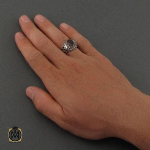 انگشتر یاقوت سرخ آفریقایی دست ساز مردانه – کد ۱۱۱۰۴