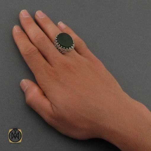 انگشتر یشم مردانه