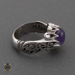 جواهرات دست ساز با نگین آمتیست