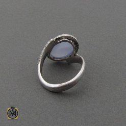 انگشتر نقره زنانه جواهرمال