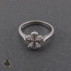 انگشتر نقره زنانه عیار 925 جواهرمال