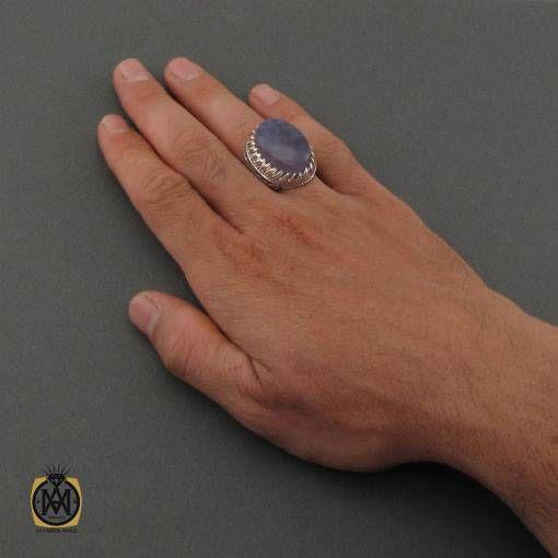 انگشتر عقیق درشت و مرغوب مردانه