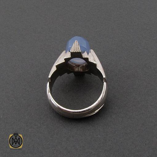 انگشتر مردانه نقره دست ساز