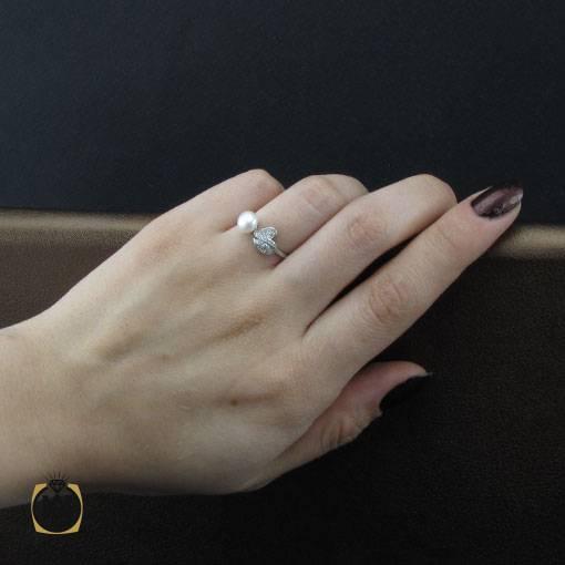 انگشتر مروارید زنانه اصل