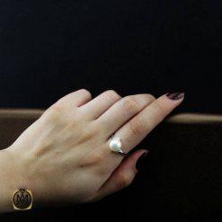انگشتر مروارید پرورشی زنانه