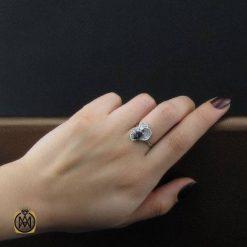 انگشتر نقره زنانه