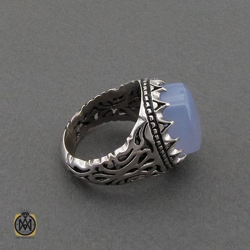 انگشتر نقره جواهرمال
