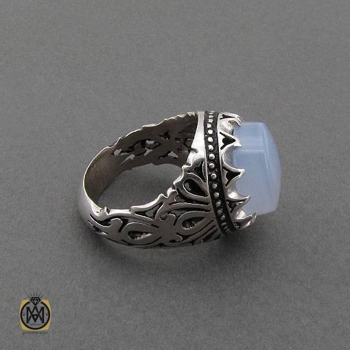 انگشتر نقره دست ساز جواهرمال