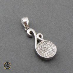 مدال نقره زنانه شیک جواهرمال