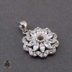 مدال نقره زنانه جواهرمال