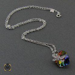 گردنبند مدال برند سواروسکی-زنانه