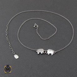 گردنبند نقره طرح فیل فانتزی زنانه – کد ۳۳۷۷