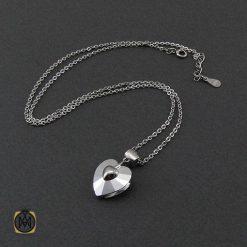 مدال سواروسکی زنانه نقره