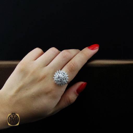 انگشتر نقره سولیتر جدید