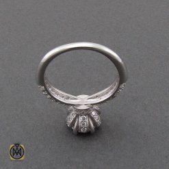 انگشتر نقره سولیتر زنانه طرح رویا