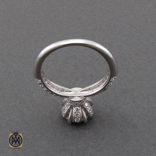 انگشتر نقره سولیتر زنانه طرح رویا – کد ۲۴۳۵