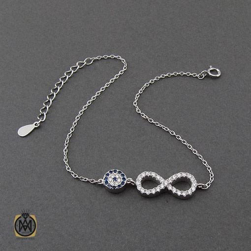 دستبند دخترانه ظریف نقره