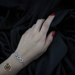 دستبند نقره جواهرمال